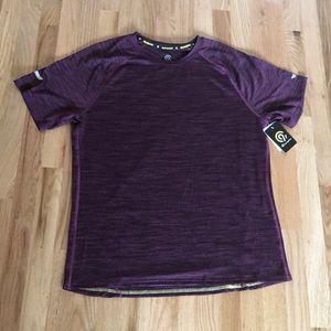 Champion Men's Size Large Purple Running T-Shirt